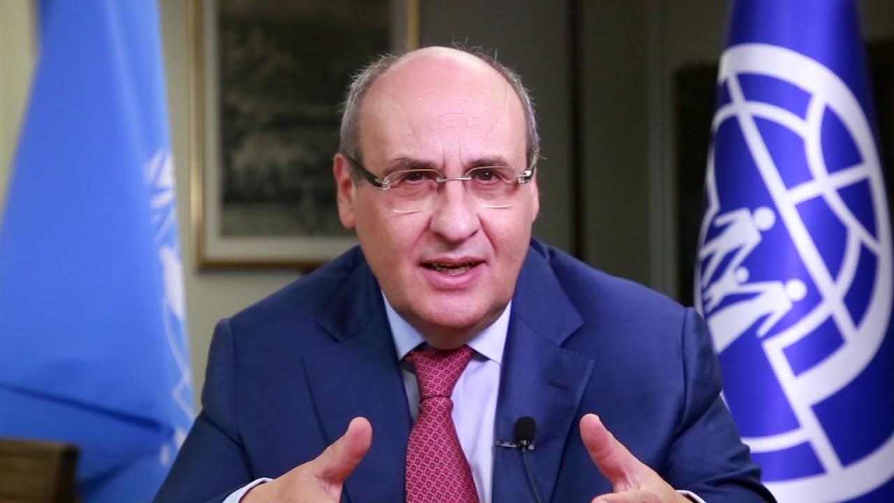 António Vitorino du Portugal - Directeur général de l'OIM
