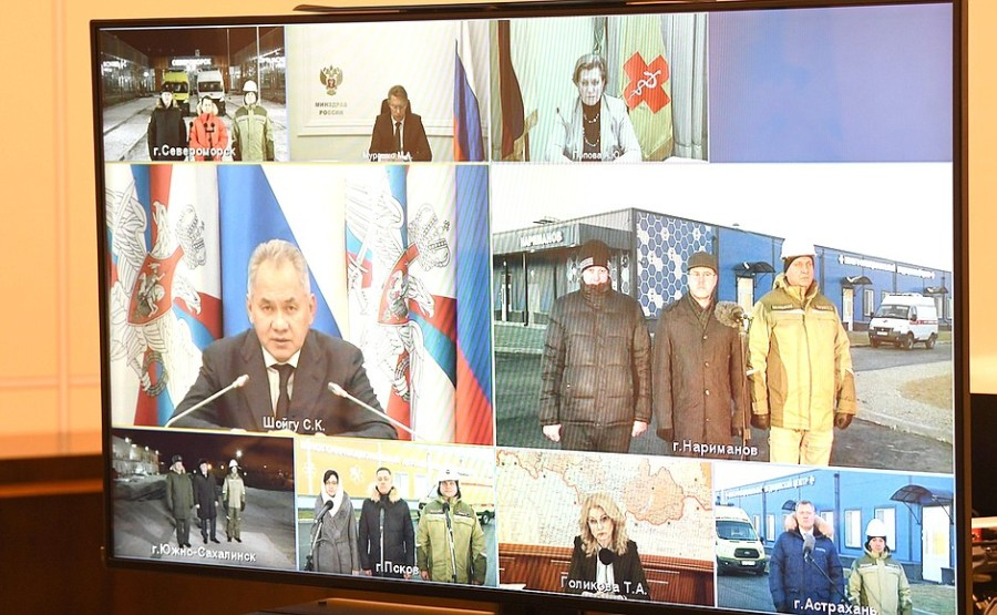 ARMEE KRZMLIN 3 XX 3 Ouverture des centres médicaux COVID-19 du ministère de la Défense du 02.12.2020