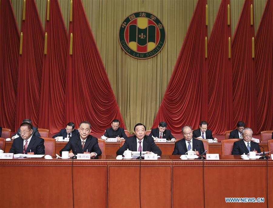 BEIJING, 20 mars (Xinhua) -- Wang Chen, vice-président du Comité permanent de l'Assemblée populaire nationale (APN, parlement chinois), a été élu mercredi directeur de la Société chinoise de droit (SCD)