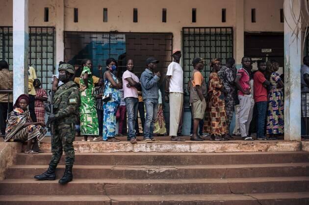 centrafrique 27.12.2020 VOTES Président + Assemblée