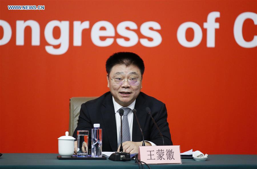 China's Minister of Housing and Urban-Rural Development Wang Menghui