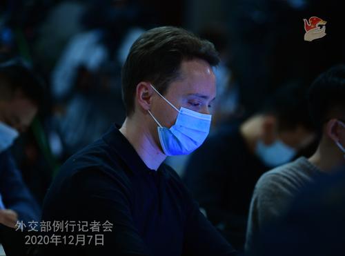 CHINE PH 18 SUR 24 Conférence de presse du 7 décembre 2020 tenue par la porte-parole du Ministère des Affaires étrangères Hua Chunying