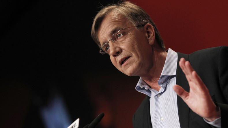 Dietmar Bartsch,coprésident du parti de gauche du Bundestag allemand,2