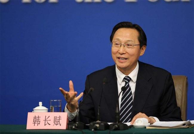 Han-Changfu-ministre-de-Agriculture-de-la-Chine