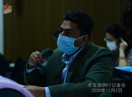HUA CHUNYING PH 19 DU 02.12.2020 Conférence de presse du 02 décembre 2020 tenue par la porte-parole du Ministère des Affaires étrangères Hua Chunying
