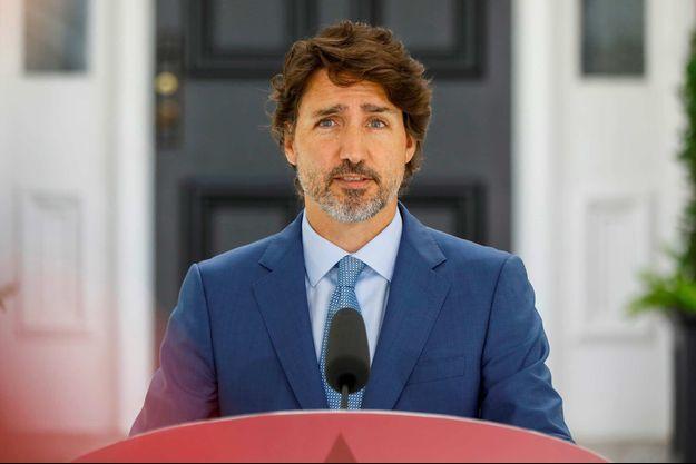 FILE PHOTO: Canada's Prime Minister Justin Trudeau attends a news conference in Ottawa