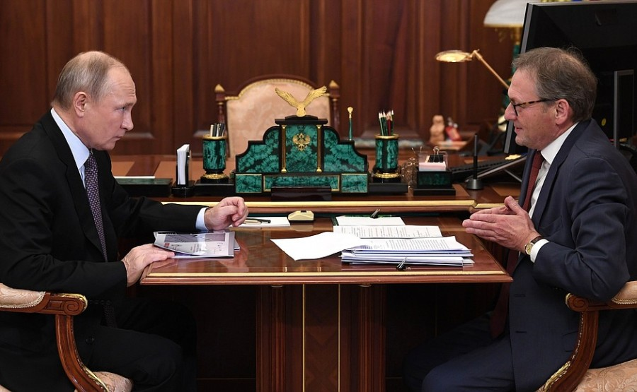 KREMLIN 1 Rencontre avec le commissaire aux droits des entrepreneurs Boris Titov 28.12.2020