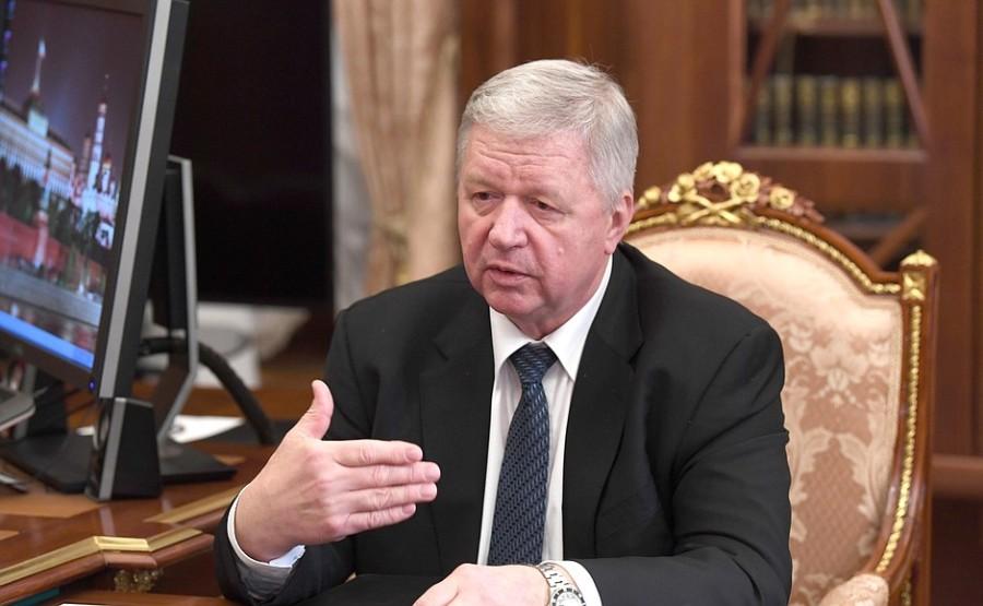KREMLIN 1 XX 2 Rencontre avec le président de la Fédération des syndicats indépendants de Russie Mikhail Shmakov du 29 décembre 2020