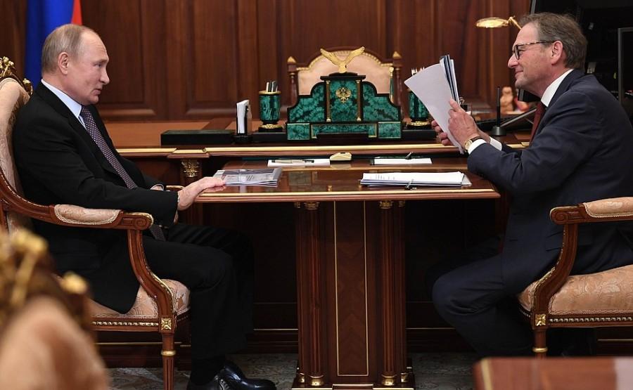 KREMLIN 2 Rencontre avec le commissaire aux droits des entrepreneurs Boris Titov 28.12.2020