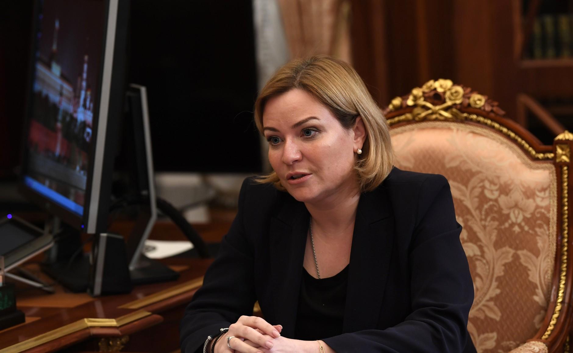KREMLIN PH 3 SUR 3 DU 07.12.2020 Rencontre avec la ministre de la Culture Olga Lyubimova