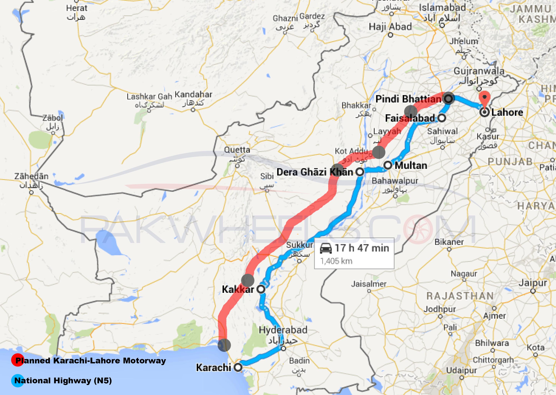 Lahore-Karachi-Motorway-Plan-Pakistan