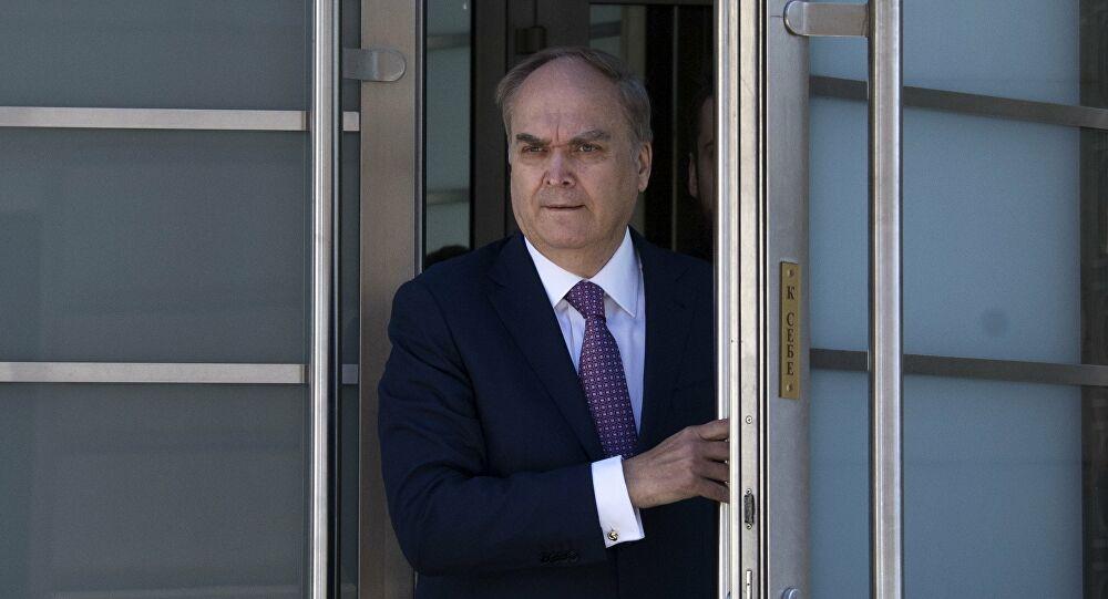 l'Ambassadeur de Russie à Washington Anatoli Antonov