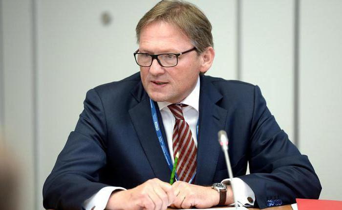 le commissaire présidentiel aux droits des entrepreneurs Boris Titov