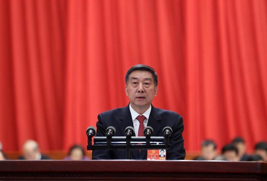 Le conseiller d'État chinois Wang Yong