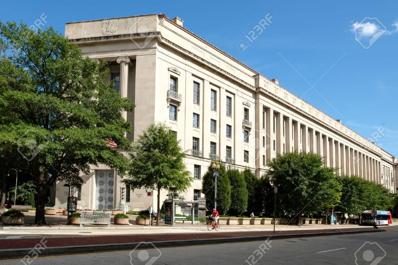le Département de la Justice des États-Unis,