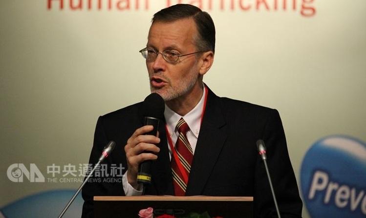le Directeur de l'Institut américain à Taiwan (AIT) Brent Christensen