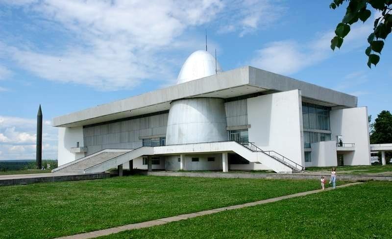 le musée Tsiolkovsky sur le spatial