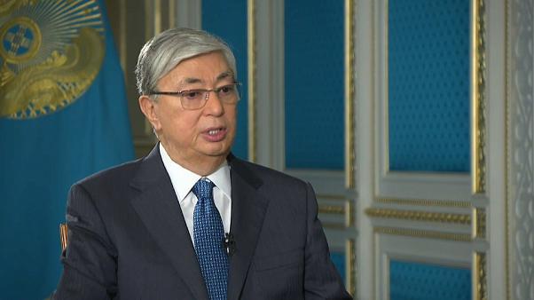 Le Président de la République du Kazakhstan, Kassym-Jomart Tokayev,