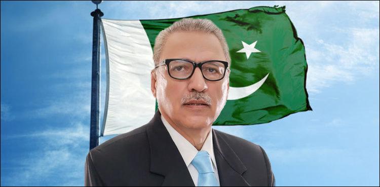 Le Président pakistanais Arif Alvi