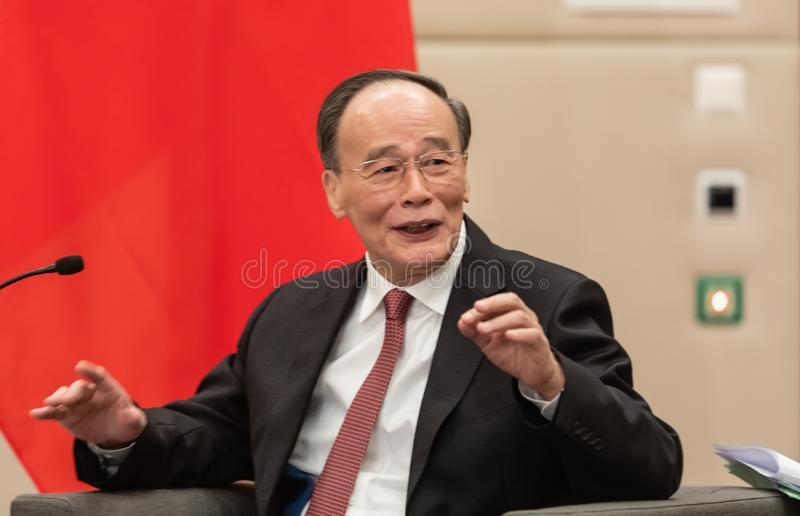 M.WANG Qishan, Vice-Président de la République