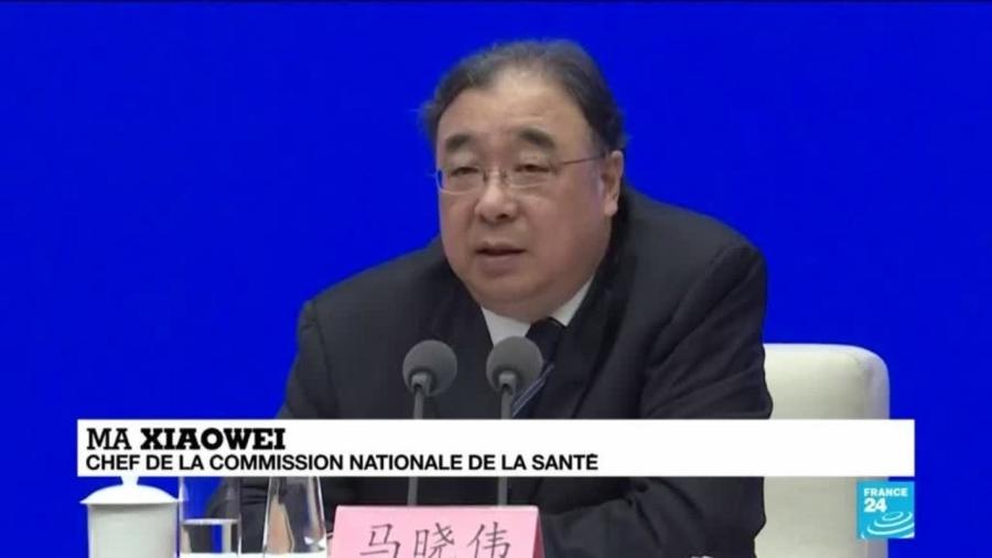 MA Xiaowei, Président de la Commission nationale de la santé