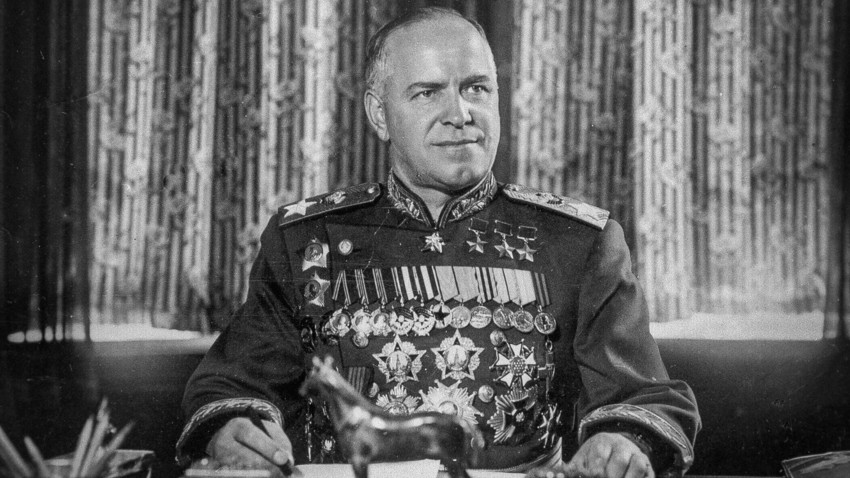 maréchal Gueorgui Joukov au Monténégro