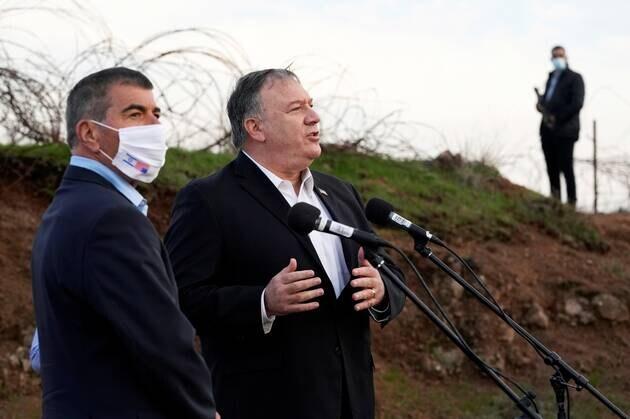 Mike Pompeo dans une colonie israélienne en Cisjordanie et sur le plateau du Golan é