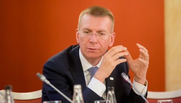 Ministre des Affaires étrangères de la Lettonie, Edgars Rinkevics