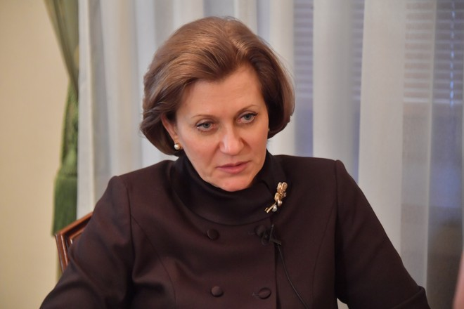 Mme Popova [chef du Service fédéral de surveillance de la protection et du bien-être des consommateurs (Rospotrebnadzor)