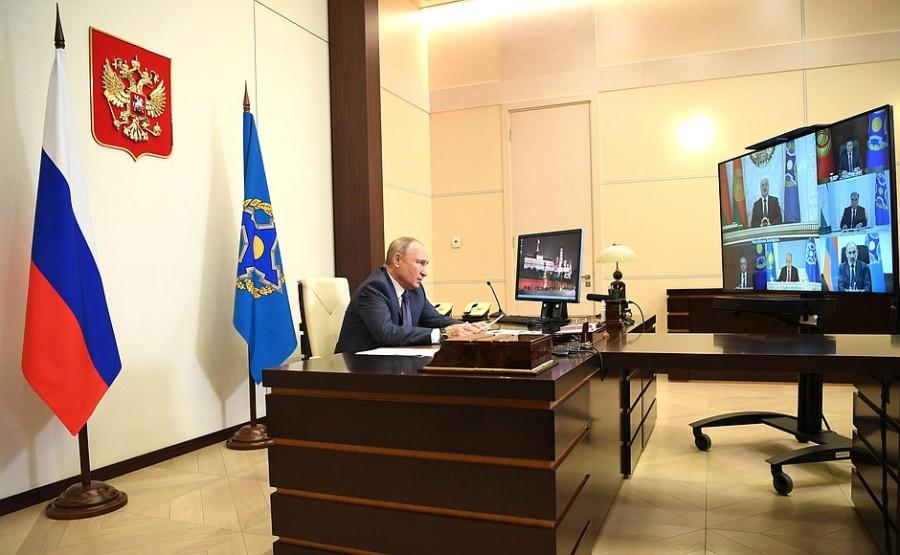 OTSC KREMLIN PH 1 XX 4 Réunion du Conseil de sécurité collective de l'OTSC du 02.12.2020