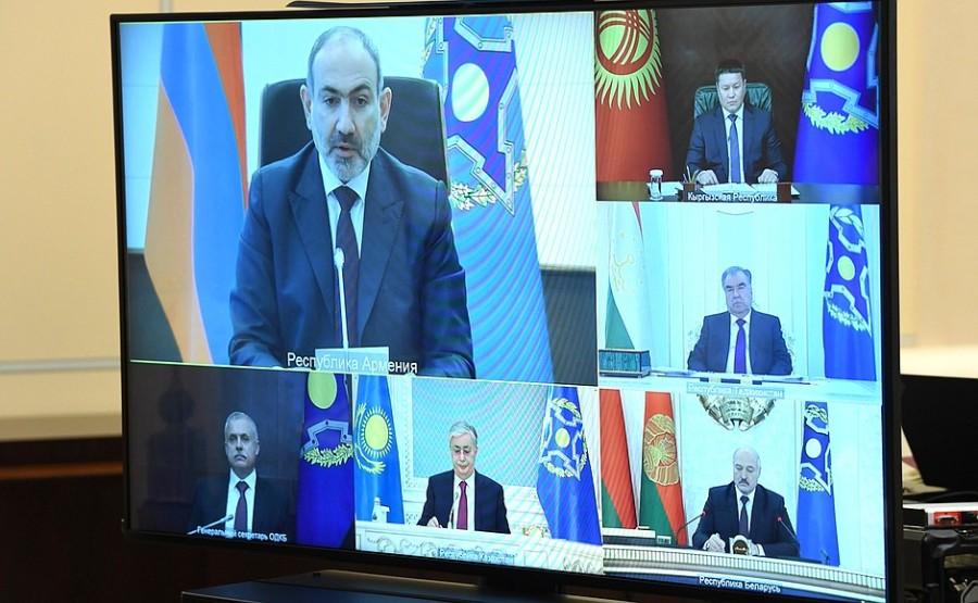OTSC KREMLIN PH 2 XX 4 Réunion du Conseil de sécurité collective de l'OTSC du 02.12.2020