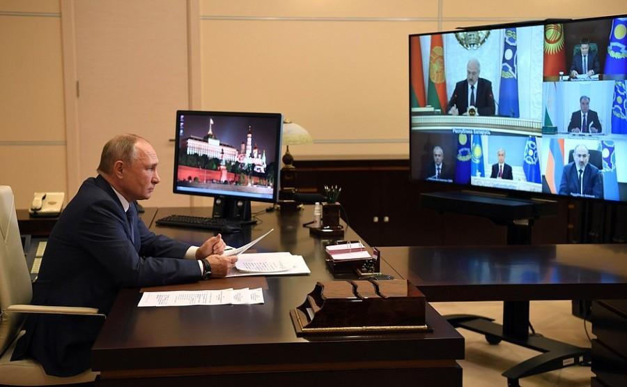 OTSC KREMLIN PH 4 XX 4 Réunion du Conseil de sécurité collective de l'OTSC du 02.12.2020