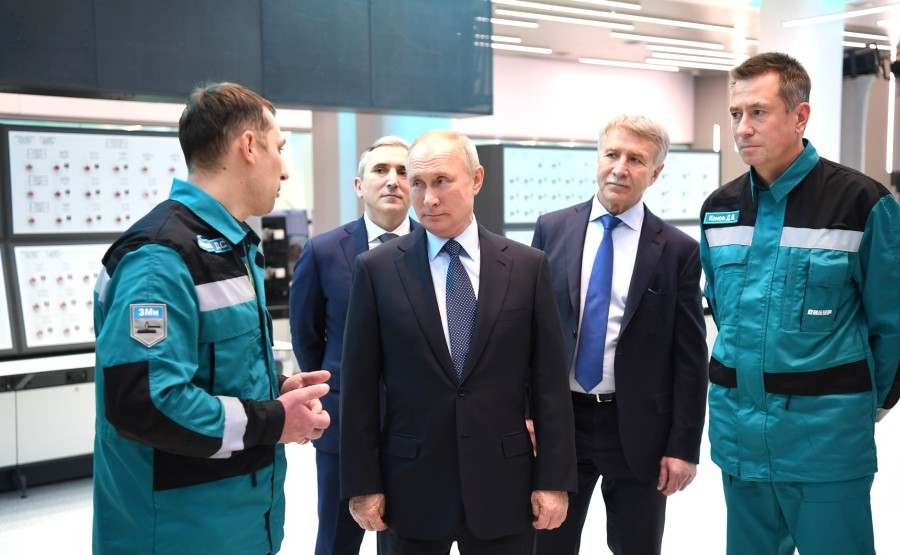 PH 3 XX 5 Visite de ZapSibNefteKhim, le plus grand complexe pétrochimique de Russie.