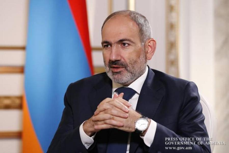 Premier ministre arménien Nikol Pashinyan,