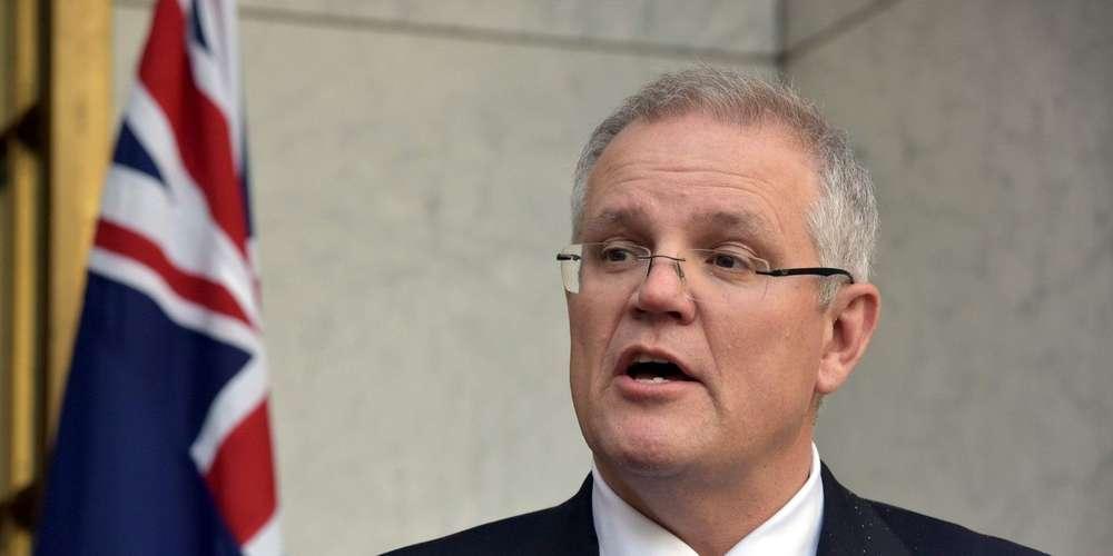 Premier Ministre australien Scott Morrison