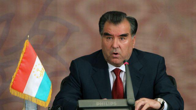 Président de la République du Tadjikistan Emomali Rahmon 2