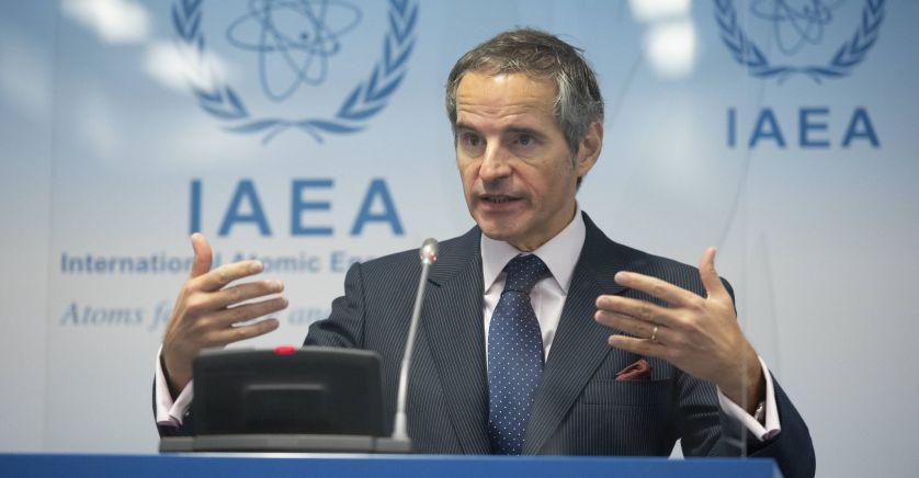 Rafael Grossi, le directeur général de l'Agence internationale de l'énergie atomique (AIEA), jeudi 17 décembre.2020