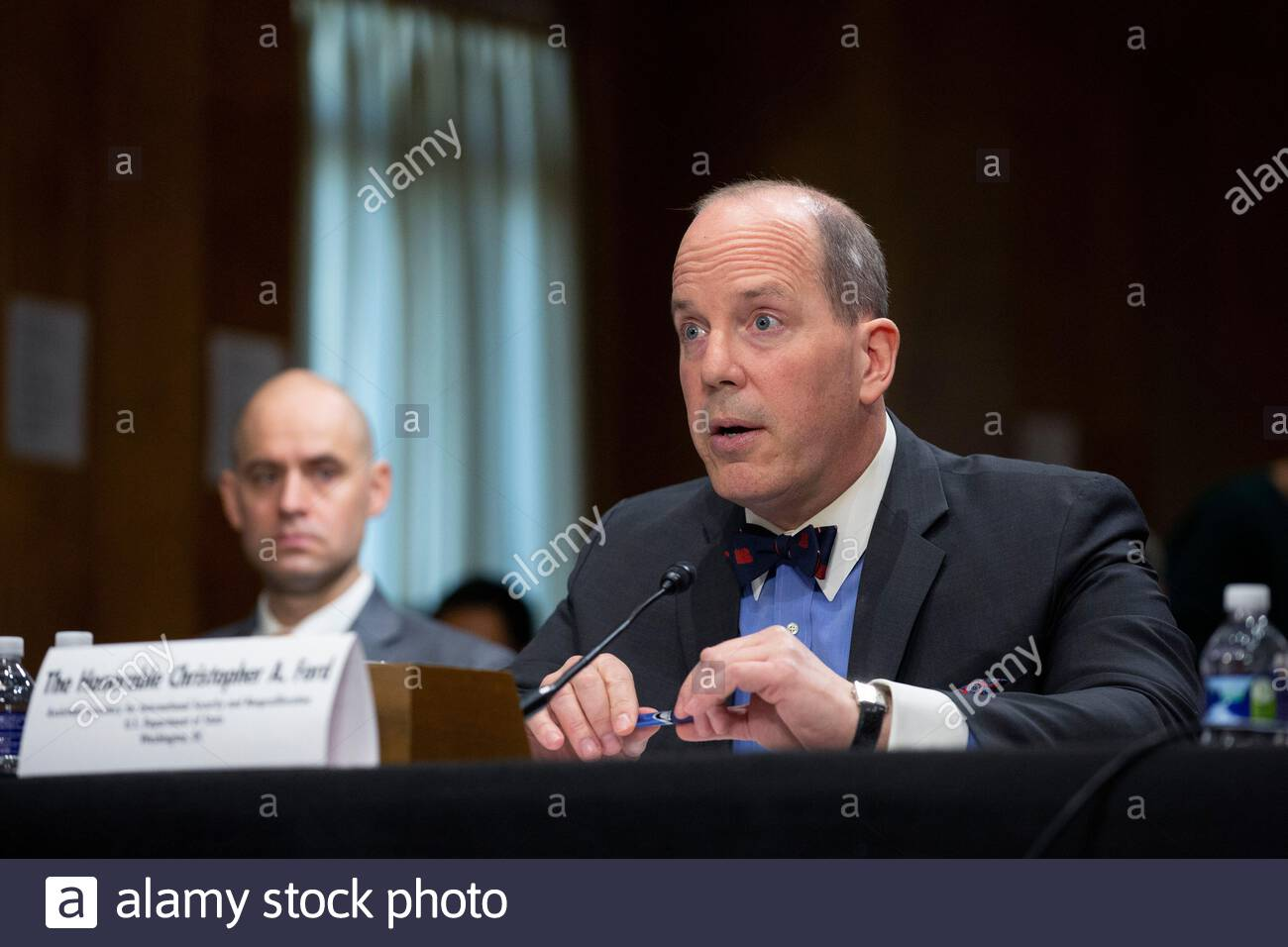 Secrétaire d'État américain Christopher Ford 3