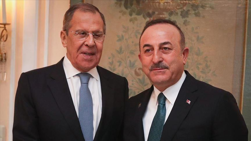 Sergueï Lavrov avec Mevlüt Cavusoglu
