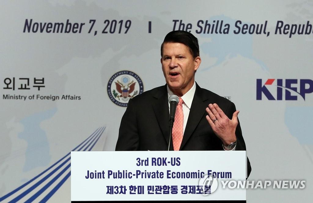 Sous-Secrétaire d'État américain Keith Krach