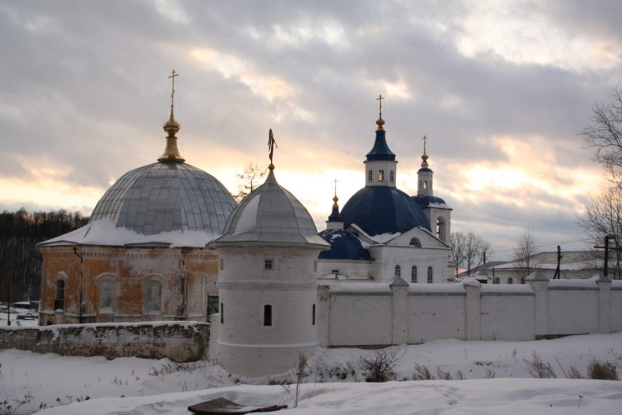 The Monastery of St.John in the outskirts of the Tobolsk, Russia