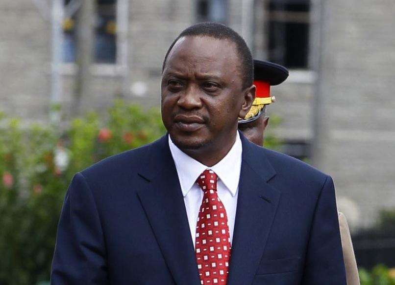 Uhuru-Kenyatta le Président du Kenya Uhuru Kenyatta