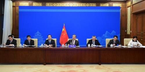 Wang Yi N° 3 avance une proposition en quatre points sur la question nucléaire iranienne 21.12.2020
