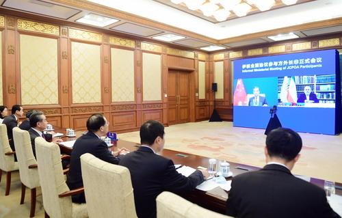 Wang Yi N° 5 avance une proposition en quatre points sur la question nucléaire iranienne 21.12.2020