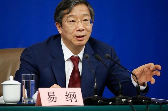 YI Gang, Gouverneur de la Banque centrale