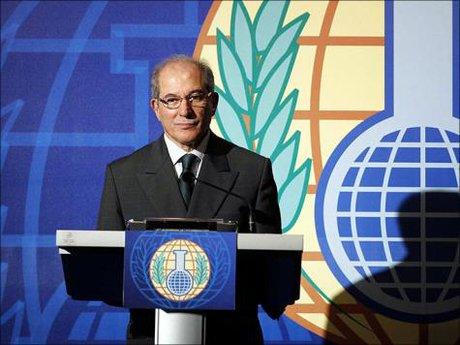 ABDEL-12 Le Directeur général de l'Organisation Fernando Arias
