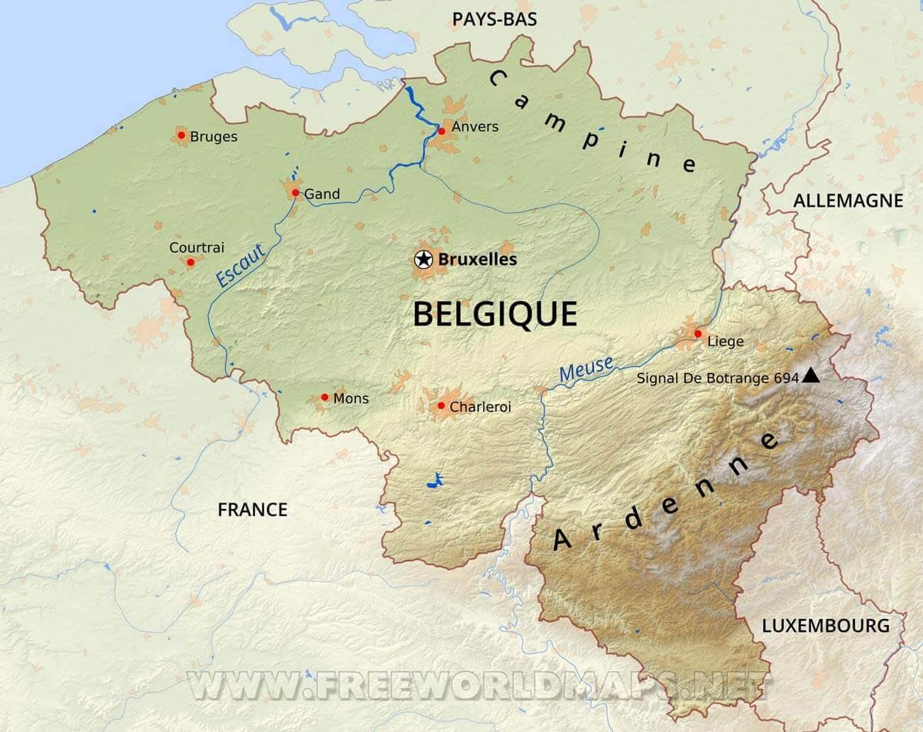 belgique-carte