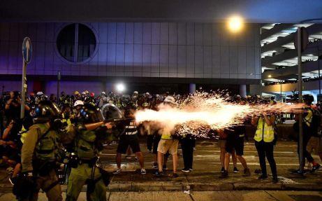 émeutes Hong Kong 2021