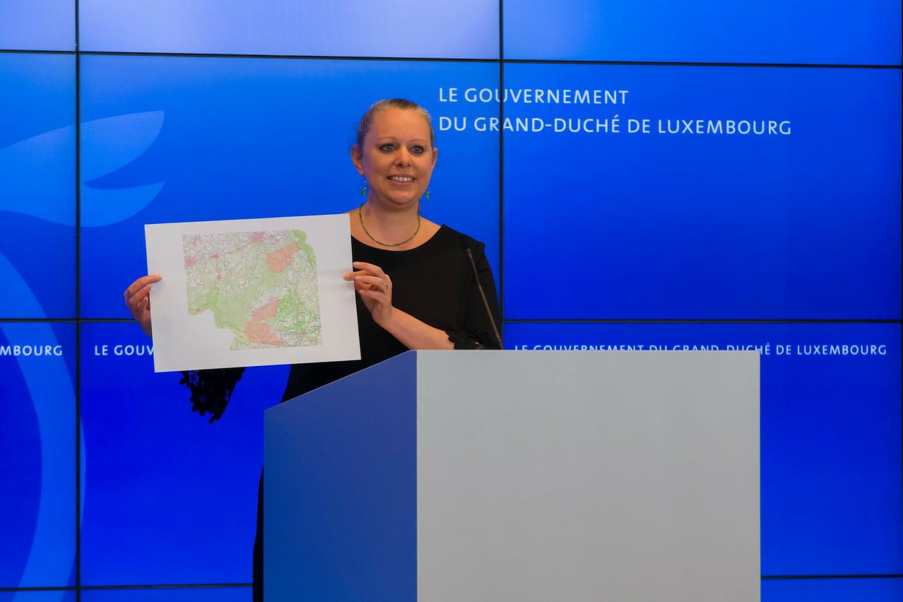 grand-duche La Ministre de l'Environnement Carole Dieschbourg