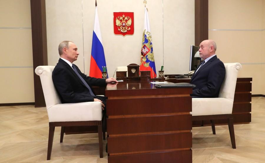 KREMLIN 2 XX 3 Rencontre avec le directeur de l'Institut russe d'études stratégiques Mikhail Fradkov - 18 janvier 2021